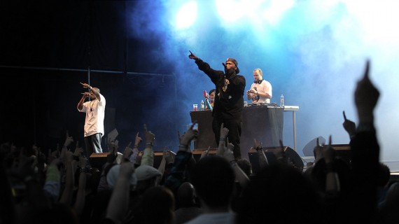 Bun B - Oslo Live Festival 2010, Foto: Rashid Akrim, NRK P3