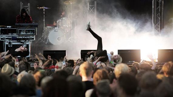 Crystal Castles - Oslo Live Festival 2010, Foto: Rashid Akrim, NRK P3